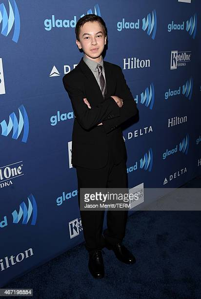 Actor Hayden Byerly attends the 26th Annual GLAAD Media Awards at The Beverly Hilton Hotel on March 21 2015 in Beverly Hills California
