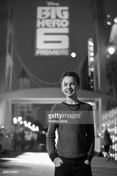 "Actor Hayden Byerly attends the Los Angeles Premiere of Walt Disney Animation Studios' ""Big Hero 6' at El Capitan Theatre on November 4 2014 in..."