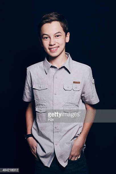 Actor Hayden Byerly is photographed at the Fox 2014 Teen Choice Awards at The Shrine Auditorium on August 10 2014 in Los Angeles California
