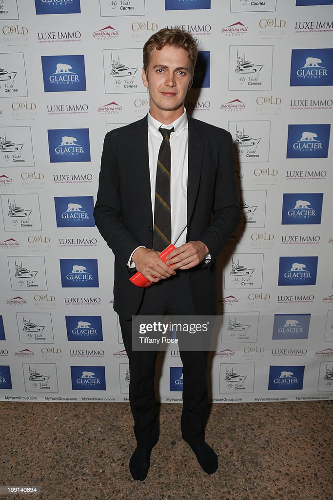 Actor Hayden Christensen attends My Yacht Party sponsored by Sparkling Hill Resort on May 19, 2013 in Cannes, France.