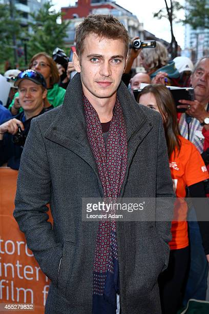 Actor Hayden Christensen attends the 'American Heist' premiere during the 2014 Toronto International Film Festival at Princess of Wales Theatre on...