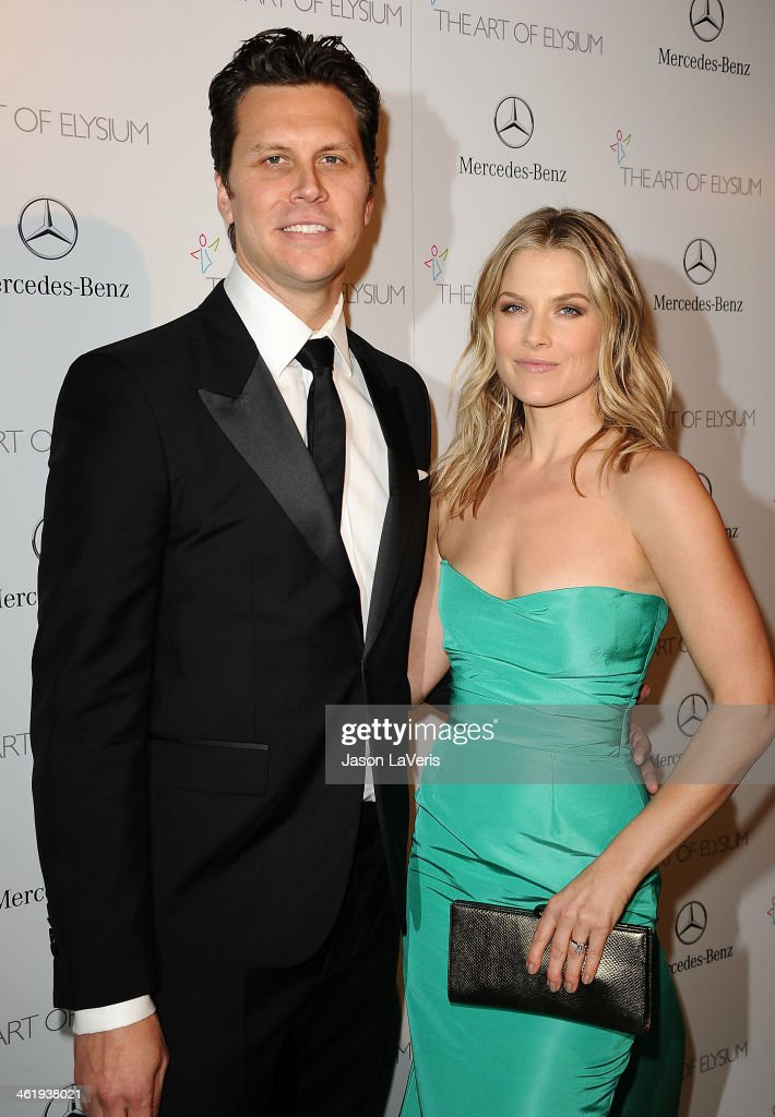 Actor Hayes MacArthur and actress Ali Larter attend the Art of Elysium's 7th annual Heavan gala at Skirball Cultural Center on January 11 2014 in Los...