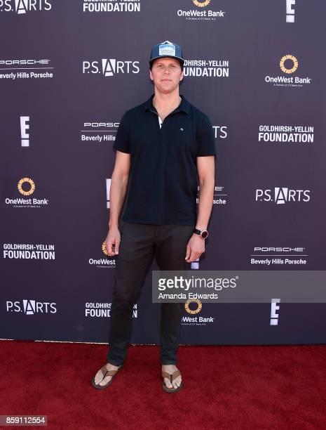 Actor Hayes MacArthur arrives at PS ARTS' Express Yourself 2017 at Barker Hangar on October 8 2017 in Santa Monica California