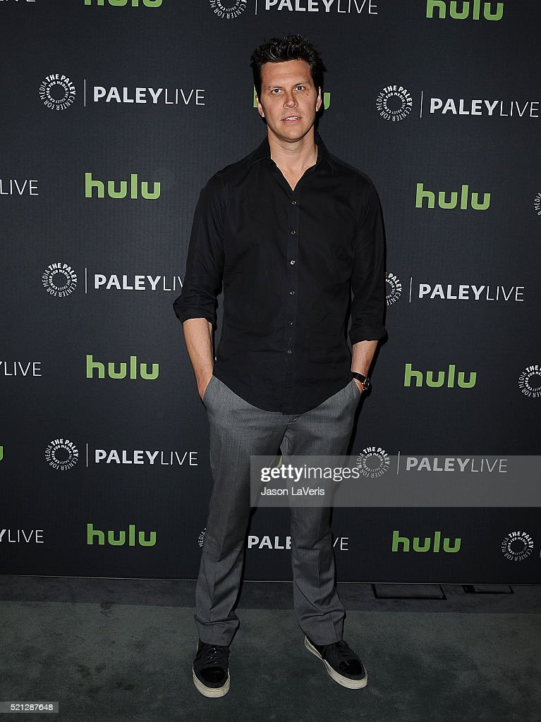 Actor Hayes MacArthur attends an evening with 'Angie Tribeca' at The Paley Center for Media on April 14 2016 in Beverly Hills California