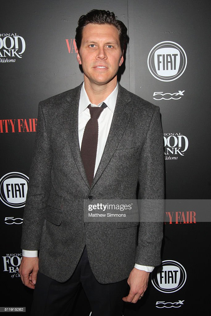 Actor Hayes MacArthur attends Vanity Fair and FIAT Young Hollywood Celebration at Chateau Marmont on February 23 2016 in Los Angeles California