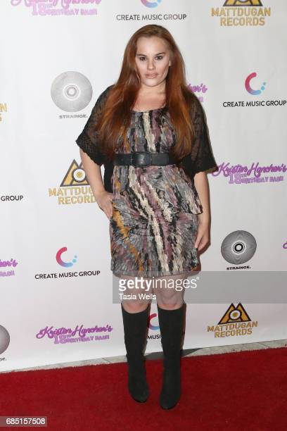 Actor Hayley Gripp attends social media star Kristen Hancher's Big 18th Birthday Bash at Bootsy Bellows on May 18 2017 in West Hollywood California