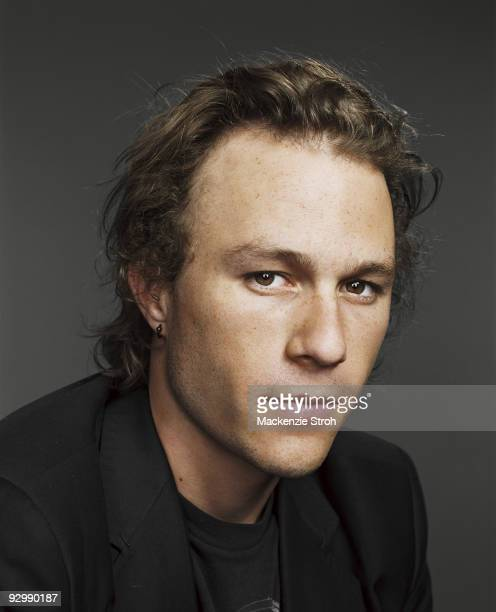 Actor Heath Ledger poses at a portrait session during the Toronto Film Festival in September 2006 for Life Magazine Published image