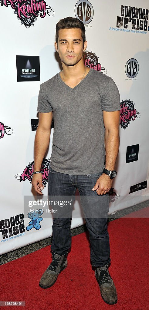 Actor Hector David Jr. attends the debut release of Ashlee Keating's new single and the release of her new video at the Avalon on May 14, 2013 in Hollywood, California.