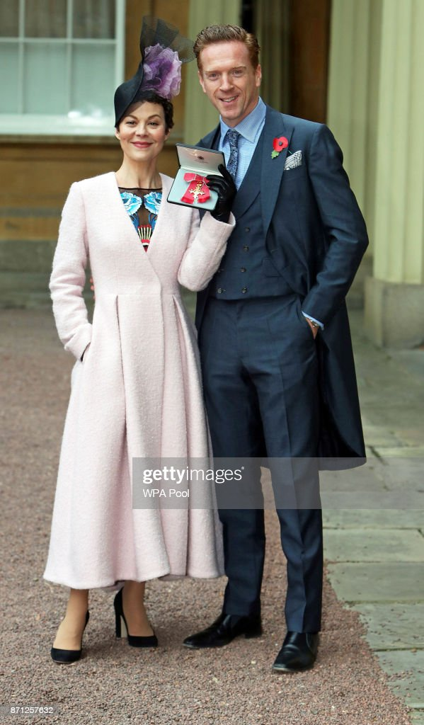 Helen's OBE Investiture At Buckingham Palace