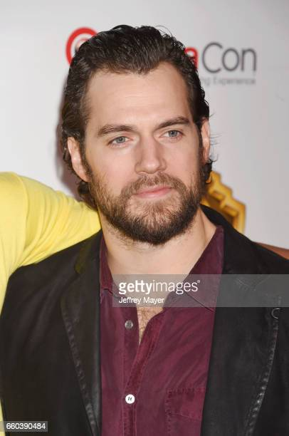 Actor Henry Cavill arrives at the CinemaCon 2017 Warner Bros Pictures presentation of their upcoming slate of films at The Colosseum at Caesars...