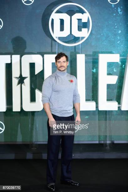 Actor Henry Cavill attends the 'Justice League' photocall at The College on November 4 2017 in London England