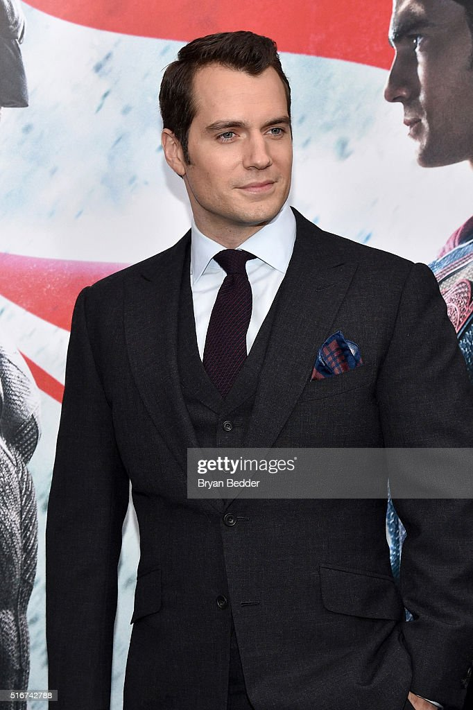 Actor <a gi-track='captionPersonalityLinkClicked' href=/galleries/search?phrase=Henry+Cavill&family=editorial&specificpeople=3767741 ng-click='$event.stopPropagation()'>Henry Cavill</a> attends the launch of Bai Superteas at the 'Batman v Superman: Dawn of Justice' premiere on March 20, 2016 in New York City.