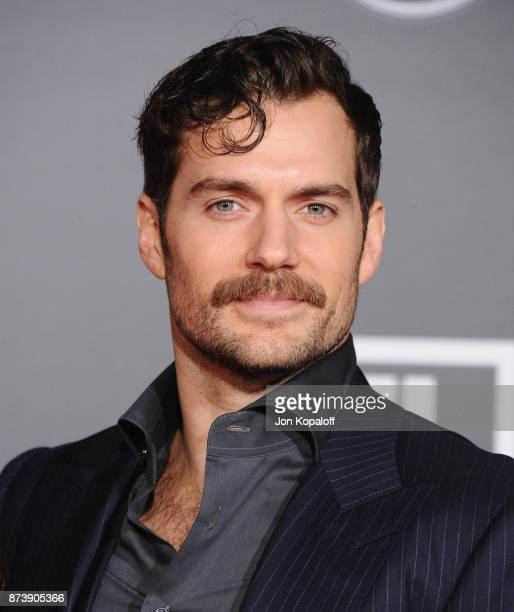 Actor Henry Cavill attends the Los Angeles Premiere of Warner Bros Pictures' 'Justice League' at Dolby Theatre on November 13 2017 in Hollywood...