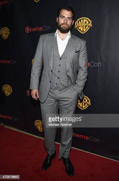 """Actor Henry Cavill attends Warner Bros Pictures Invites You to """"The Big Picture"""" an Exclusive Presentation Highlighting the Summer of 2015 and Beyond..."""