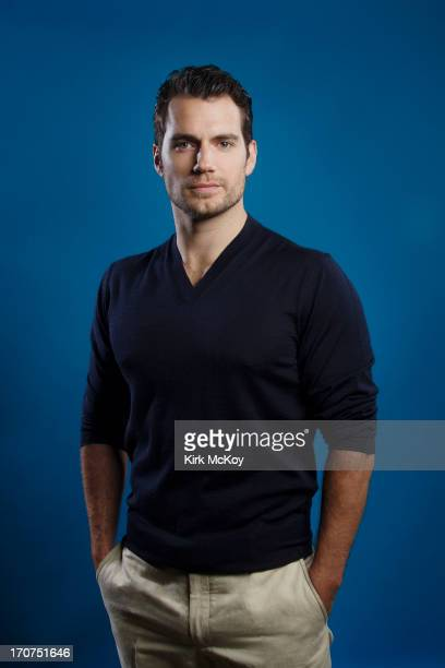 Actor Henry Cavill is photographed for Los Angeles Times on May 30 2013 in Burbank California PUBLISHED IMAGE CREDIT MUST BE Kirk McKoy/Los Angeles...
