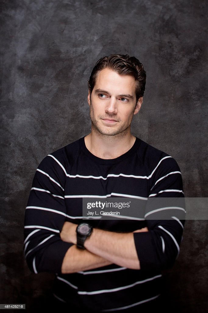 Actor <a gi-track='captionPersonalityLinkClicked' href=/galleries/search?phrase=Henry+Cavill&family=editorial&specificpeople=3767741 ng-click='$event.stopPropagation()'>Henry Cavill</a> of ' Man from U.N.C.L.E.' poses for a portrait at Comic-Con International 2015 for Los Angeles Times on July 9, 2015 in San Diego, California. PUBLISHED IMAGE.