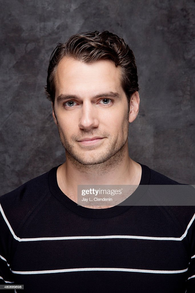 Actor <a gi-track='captionPersonalityLinkClicked' href=/galleries/search?phrase=Henry+Cavill&family=editorial&specificpeople=3767741 ng-click='$event.stopPropagation()'>Henry Cavill</a> of 'The Man from U.N.C.L.E.'poses for a portrait at Comic-Con International 2015 for Los Angeles Times on July 9, 2015 in San Diego, California. PUBLISHED IMAGE.