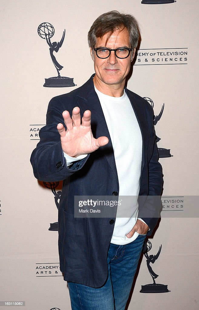 Actor Henry Czerny arrives at the Academy of Television Arts & Sciences Presents An Evening With 'Revenge' at the Leonard H. Goldenson Theater held at the Academy of Television Arts & Sciences on March 4, 2013 in North Hollywood, California.