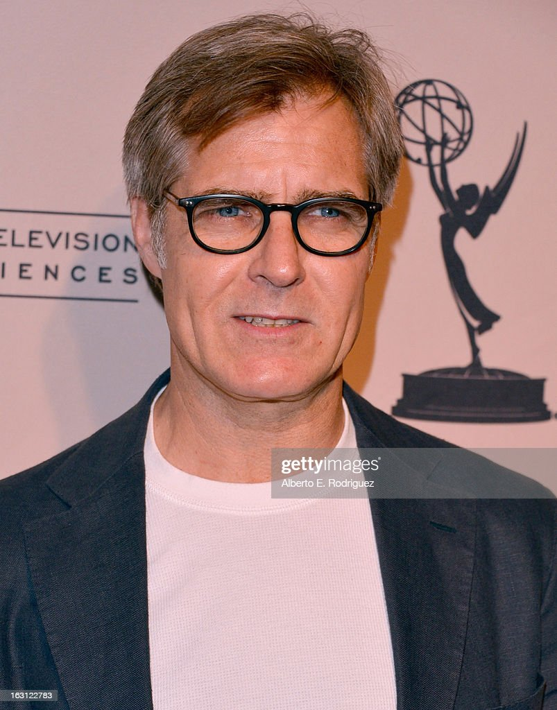 Actor Henry Czerny arrives to the Academy of Television Arts and Sciences' An Evening with 'Revenge' at Leonard H. Goldenson Theatre on March 4, 2013 in North Hollywood, California.