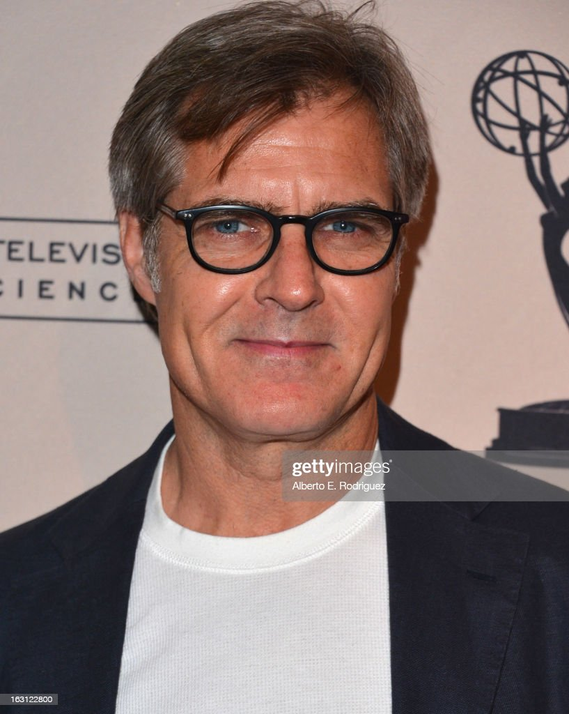 Actor <a gi-track='captionPersonalityLinkClicked' href=/galleries/search?phrase=Henry+Czerny&family=editorial&specificpeople=832095 ng-click='$event.stopPropagation()'>Henry Czerny</a> arrives to the Academy of Television Arts and Sciences' An Evening with 'Revenge' at Leonard H. Goldenson Theatre on March 4, 2013 in North Hollywood, California.