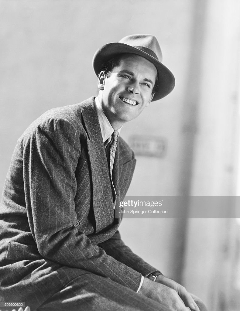 Actor <a gi-track='captionPersonalityLinkClicked' href=/galleries/search?phrase=Henry+Fonda&family=editorial&specificpeople=93512 ng-click='$event.stopPropagation()'>Henry Fonda</a> Wearing Fedora