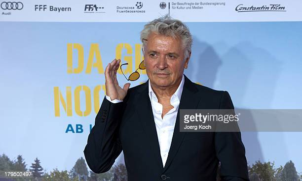 Actor Henry Huebchen poses at the 'Da geht noch was' Germany premiere at Mathaeser on September 4 2013 in Munich Germany