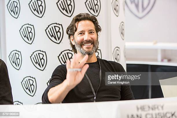 Actor Henry Ian Cusick attends 'The 100' autograph signing at ComicCon International 2016 Day 2 on July 22 2016 in San Diego California