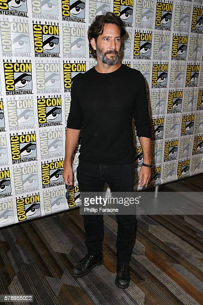 Actor Henry Ian Cusick of 'The 100' attends ComicCon International 2016 on July 22 2016 in San Diego California
