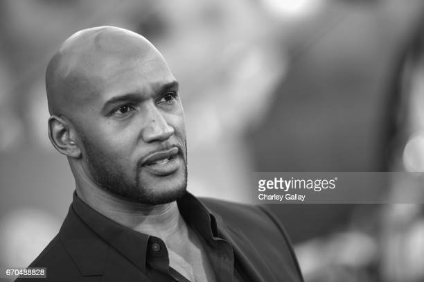 "Actor Henry Simmons at The World Premiere of Marvel Studios' ""Guardians of the Galaxy Vol 2"" at Dolby Theatre in Hollywood CA April 19th 2017"