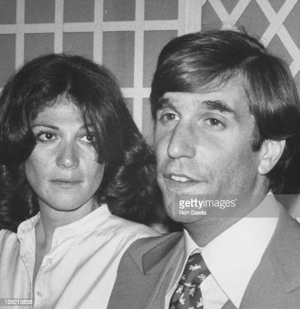 Actor Henry Winkler and wife Stacey Furstman attending 'Party for Jack Lemmon' on June 24 1977 at the Bistro in Beverly Hills California