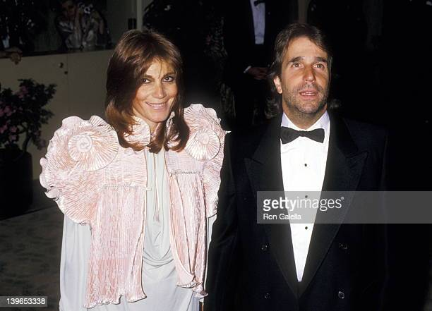 Actor Henry Winkler and wife Stacey Weitzman attend the 15th Annual American Film Institute Lifetime Achievement Award Salute to Barbara Stanwyck on...