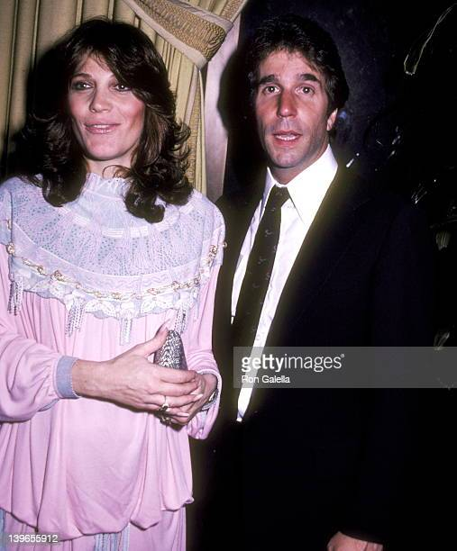 Actor Henry Winkler and wife Stacey Weitzman attend The National Council for Children and Television Presents the 1983 Career Achievement Award to...
