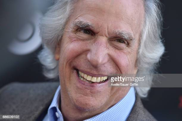 Actor Henry Winkler arrives at the premiere of HBO's 'If You're Not In The Obit Eat Breakfast' at Samuel Goldwyn Theater on May 17 2017 in Beverly...