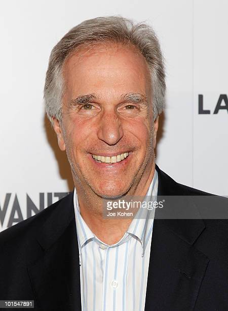 Actor Henry Winkler arrives at the USA Network and Vanity Fair 'Royal Pains' Season Two kick off event at Lacoste Fifth Avenue Boutique on June 1...