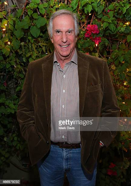 Actor Henry Winkler attends the Adult Swim presents the 'Childrens Hospital' Season 6 premiere event at Cinefamily on March 19 2015 in Los Angeles...