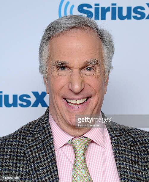 Actor Henry Winkler visits the SiriusXM Studio on March 14 2016 in New York City