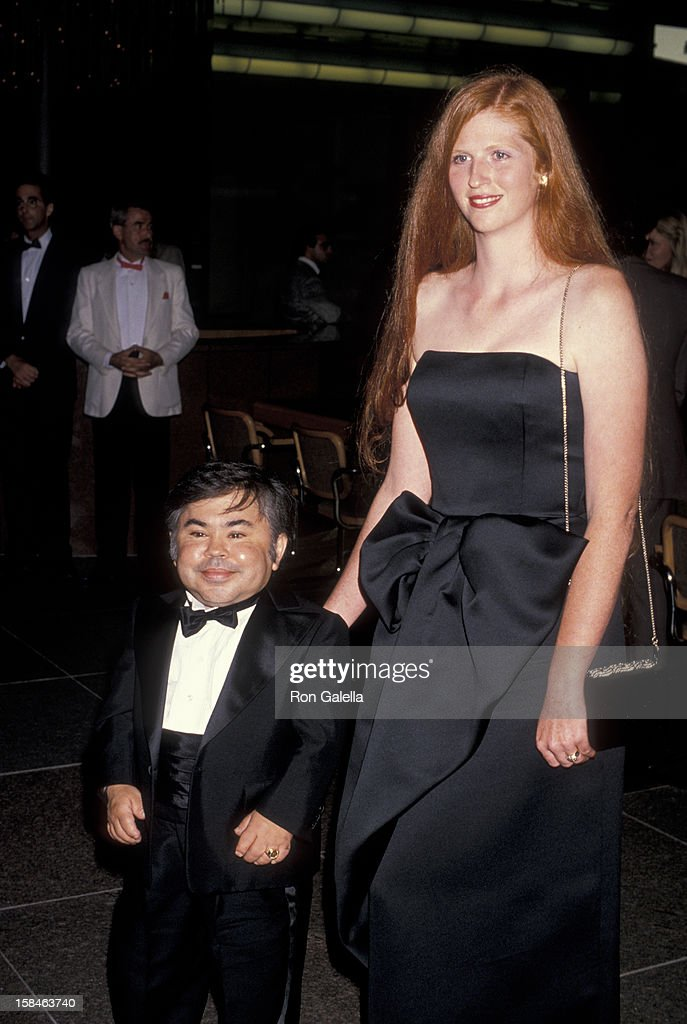 Actor <a gi-track='captionPersonalityLinkClicked' href=/galleries/search?phrase=Herve+Villechaize&family=editorial&specificpeople=1691626 ng-click='$event.stopPropagation()'>Herve Villechaize</a> and date Kathy Self attending the premiere of 'Licence To Kill' on July 10, 1989 at the Director's Guild Theater in Hollywood, California.