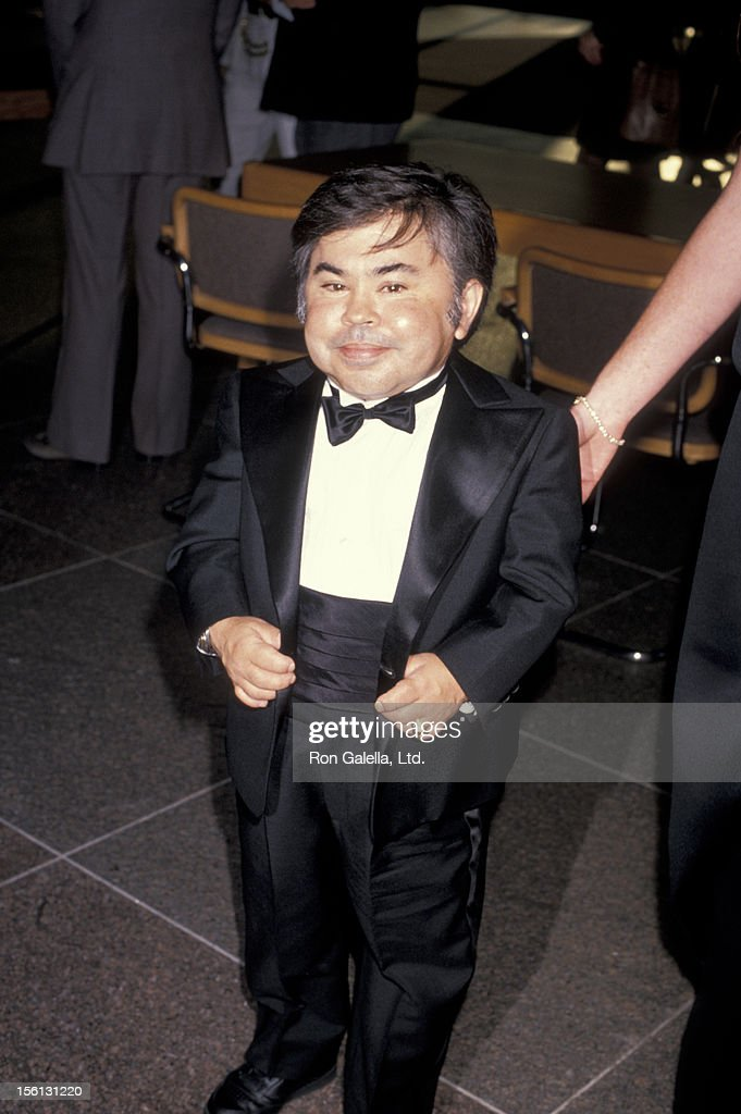 Actor <a gi-track='captionPersonalityLinkClicked' href=/galleries/search?phrase=Herve+Villechaize&family=editorial&specificpeople=1691626 ng-click='$event.stopPropagation()'>Herve Villechaize</a> attending the premiere of 'Licence To Kill' on July 10, 1989 at the Director's Guild Theater in Hollywood, California.