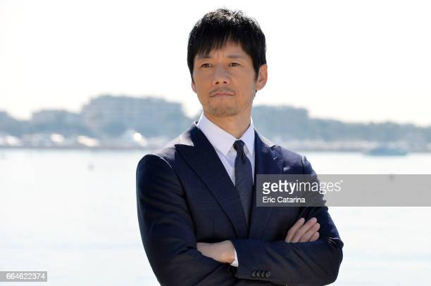 APRIL 04 Actor Hidetoshi Nishijima attends the 'Crisis' photocall at La Rotonde on April 4 2017 in Cannes France