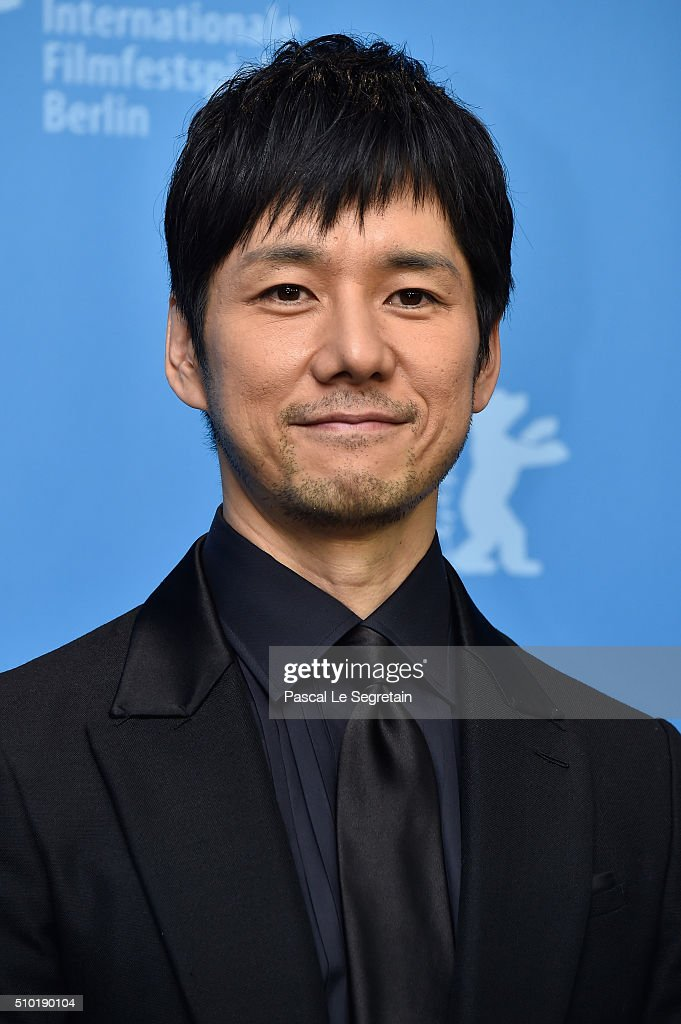 Actor <a gi-track='captionPersonalityLinkClicked' href=/galleries/search?phrase=Hidetoshi+Nishijima&family=editorial&specificpeople=3536370 ng-click='$event.stopPropagation()'>Hidetoshi Nishijima</a> attends the 'While the Women Are Sleeping' photo call during the 66th Berlinale International Film Festival Berlin at Grand Hyatt Hotel on February 14, 2016 in Berlin, Germany.