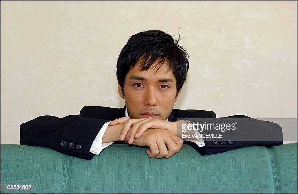Actor Hidetoshi Nishijima in Venice Italy on September 5th 2002