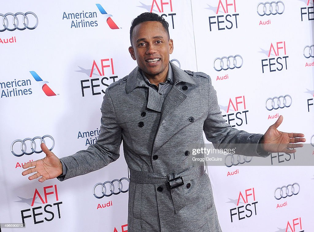 Actor Hill Harper arrives at the AFI FEST 2015 Presented By Audi Centerpiece Gala Premiere of Columbia Pictures' 'Concussion' at TCL Chinese Theatre...
