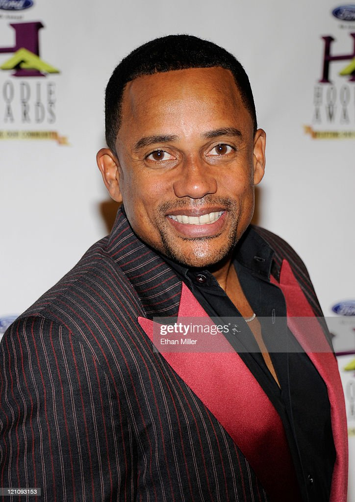 Actor <a gi-track='captionPersonalityLinkClicked' href=/galleries/search?phrase=Hill+Harper&family=editorial&specificpeople=212847 ng-click='$event.stopPropagation()'>Hill Harper</a> arrives at the ninth annual Ford Hoodie Awards at the Mandalay Bay Events Center August 13, 2011 in Las Vegas, Nevada.
