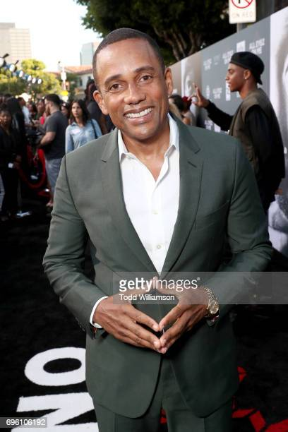 Actor Hill Harper at the 'ALL EYEZ ON ME' Premiere at Westwood Village Theatre on June 14 2017 in Westwood California