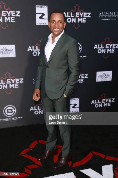 Actor Hill Harper attends the premiere of Lionsgate's 'All Eyez On Me' at the Westwood Village Theatres on June 14 2017 in Los Angeles California