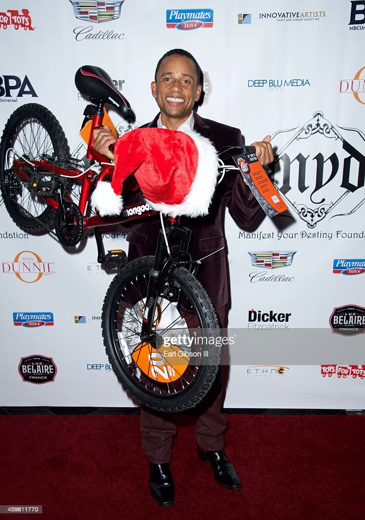 Actor Hill Harper host the 7th Annual Manifest Your Destiny Toy Drive Fundraiser at Avalon on December 1 2014 in Hollywood California