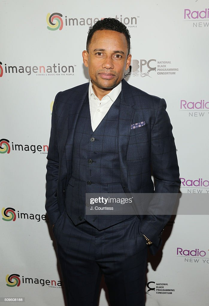 Actor Hill Harper poses for a photo at the 'Cocktails Cinema Revolution' A Celebration Of Black Excellence at the SVA Theater on February 10 2016 in...
