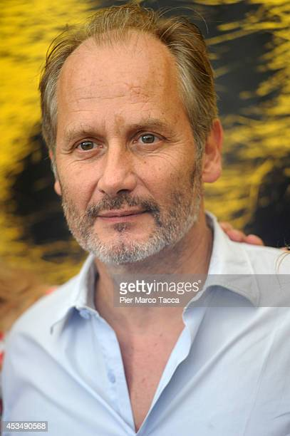 Actor Hippolyte Girardot attends the 'A La Vie' Photocall during the 67th Locarno Film Festival on August 11 2014 in Locarno Switzerland