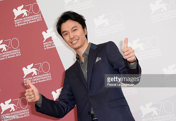 Actor Hiroki Hasegawa attends the 'Why Don't You Play In Hell' Photocall during the 70th Venice International Film Festivalon August 29 2013 in...