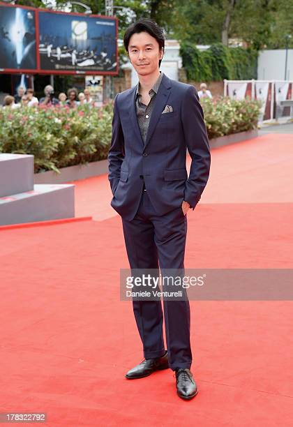 Actor Hiroki Hasegawa attends 'Why Don't You Play In Hell' Premiere during the 70th Venice International Film Festival at Sala Grande on August 29...
